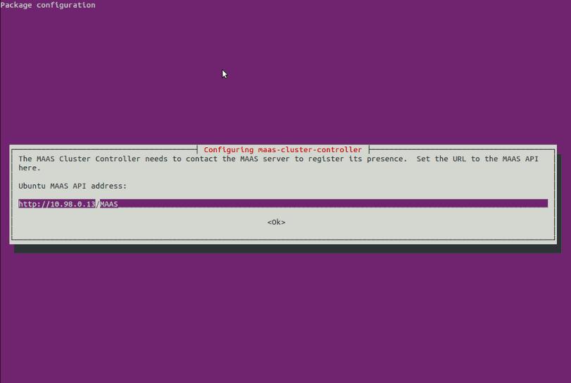 Installing MAAS — MAAS 12 10b documentation
